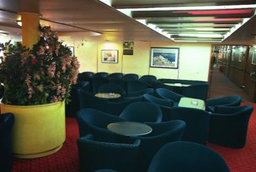Glya Ferries Interior