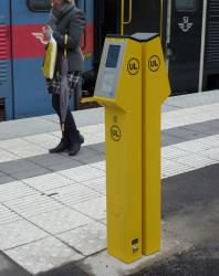 UL ticket machine