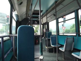 TAG Grenoble Bus Interior