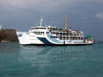 Exterior of Indonesia Ferry