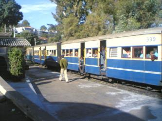Kalka-Shimla Local Train