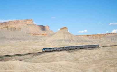 California Zephyr in Utah