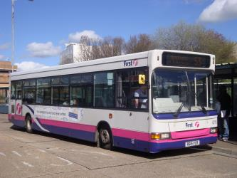 First UK Bus Exterior