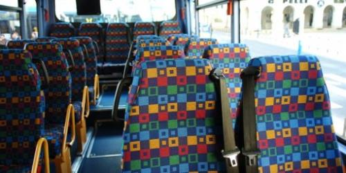 Interior of Bus Audelignes