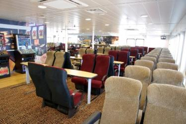 Interior of Steam Packet Ferry