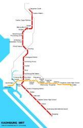 Kaohsiung Metro Map