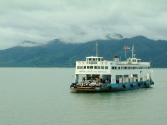 Koh Chang Ferry Exterior