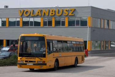 Volanbusz bus station