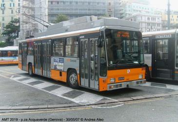 Trolleybus in Genoa