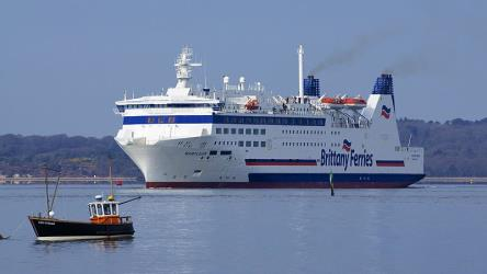 Brittany Ferries Exterior