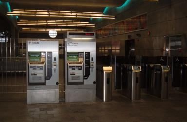 MBTA Ticket Machine