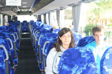 TransGironde Bus Interior