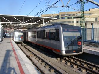 Metro Bilbao Train