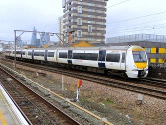 C2C train passing Shadwell