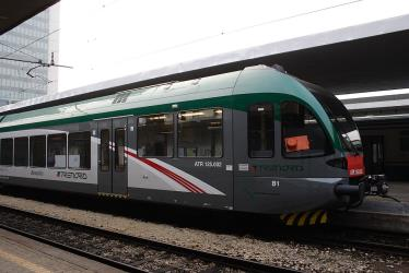 Trenord train in Milano