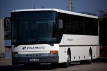 Volan white bus