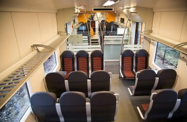 Elron train interior