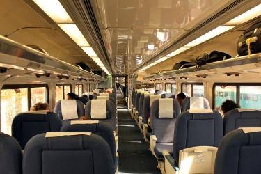 Pacific Surfliner interior