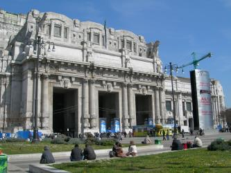 Milano Centrale Entrance