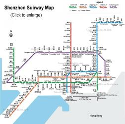 Shenzen Subway Map