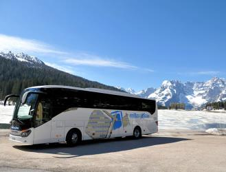 Dolomite Shuttle bus