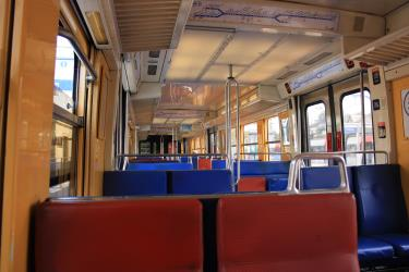 Paris RER interior