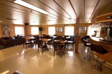 Interior of a Ferry