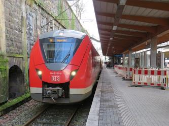 Class 1440 (Alstom Coradia Continental) train at Wuppertal Hauptbahnhof