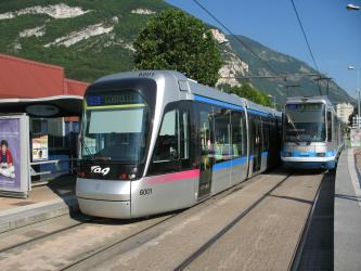 TAG Grenoble Tram Exterior