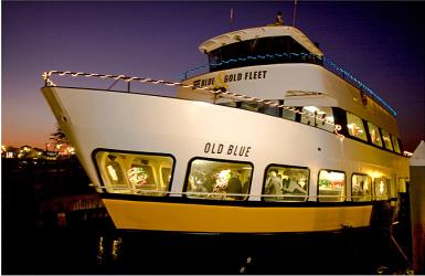 Blue & Gold Fleet's night cruise