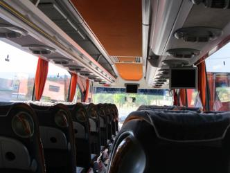 Travego bus interior