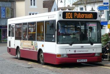 Dennis Dart SLF/Plaxton Pointer 2 bus