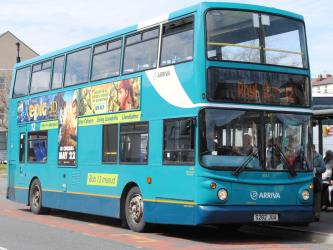 Exterior of Arriva UK Bus