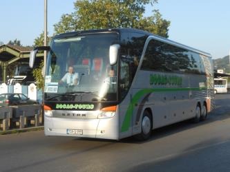 Bočac Tours bus