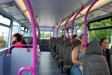 Bus Upper Deck Interior