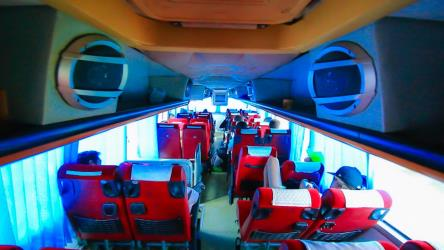Seatran VIP Bus Interior