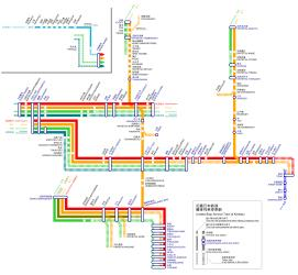 Map of Kintetsu Railways