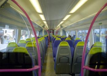 Inside a C2C Class 357 Electrostar train