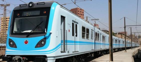 Airconditioned electric train