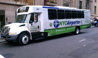 NYC Airporter exterior