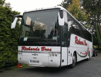 Richards Bros Bus Exterior