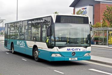 Exterior of McGills Bus Service