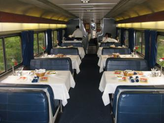 Sunset Limited dining car