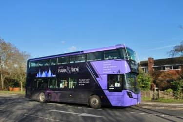 Oxford Bus Park & Ride Exterior