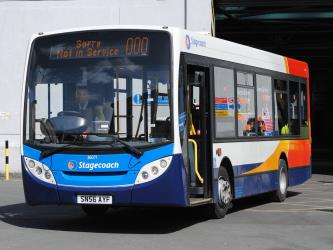 Stagecoach Bus exterior