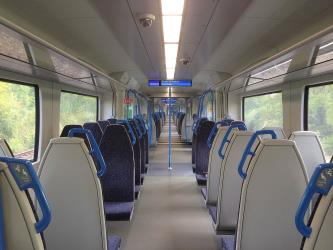 Interior of a Thameslink Class 700
