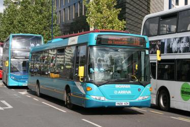 Arriva Midlands 3500 on Route 116, Moor Street