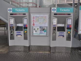 DLR ticket machine