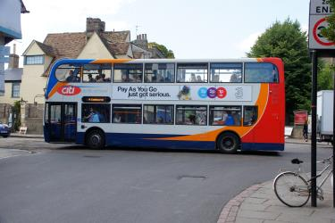 Stagecoach Bus in Cambridge