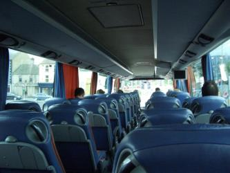 Aircoach Interior